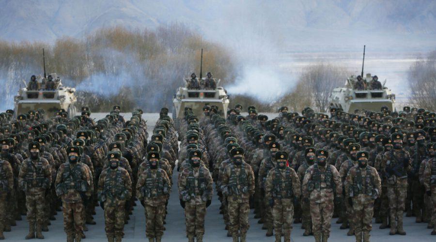čínské Lidové osvobozenecké armády (PLA)