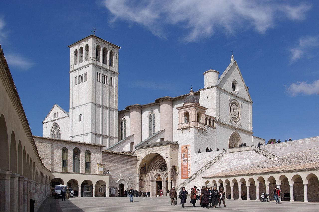 bazilika assisi italie
