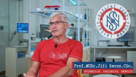 """Prof. MUDr. Jiří Beran, CSc., světově uznávaný epidemiolog avakcinolog, vyzývá vládu, aby """"zastavila absurdní hru"""""""
