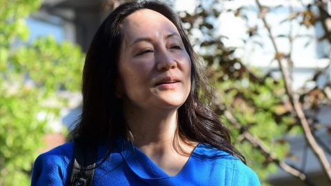 S finanční ředitelkou společnosti Huawei Meng Wan-čou se vČíně zachází jako snárodní hrdinkou