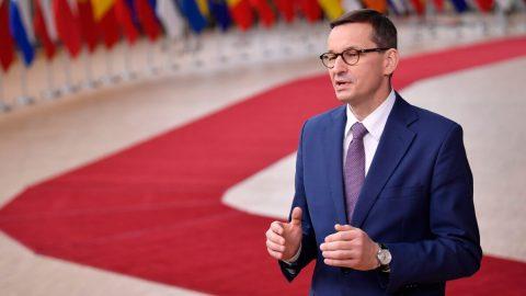 """""""Polsko nebude nikdo vydírat!"""" Projev premiéra Mateusze Morawieckého vEvropském parlamentu"""
