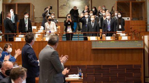 Tchajwanská delegace sklidila čestný potlesk senátního pléna