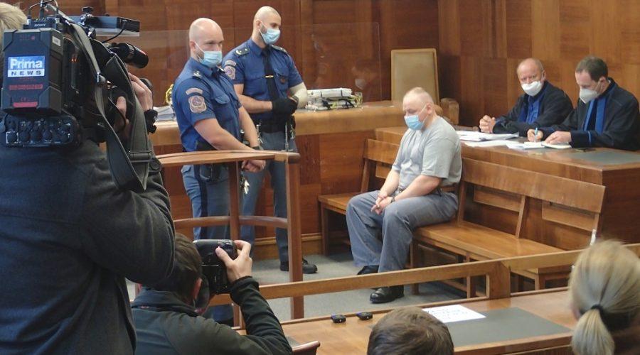 Soudní jednání v kauze Roberta Tempela u Vrchního soudu v Praze 14. října 2021. (Milan Kajínek / Epoch Times)