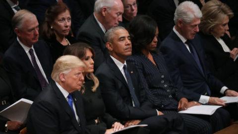 Trump: Obama osledování věděl, Clintonová 'by měla jít do vězení'