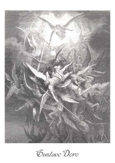 Archanděl Michael nebe obraz